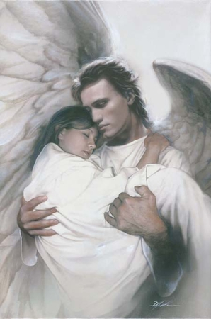 """Danny Hahlbohm Handsigned and Numbered Limited Edition Print: """"In the Arms of an Angel"""""""