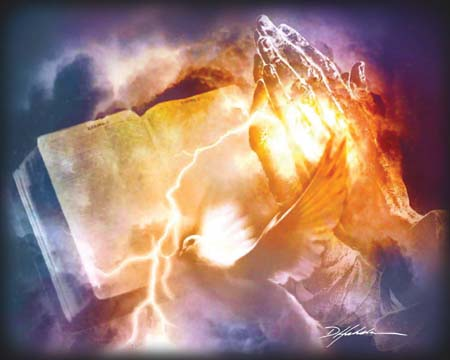 """Danny Hahlbohm Handsigned and Numbered Limited Edition Print:""""Power of Prayer"""""""