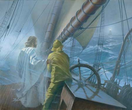 """Danny Hahlbohm Handsigned & Numbered Limited Edition Print:""""At the Helm"""""""