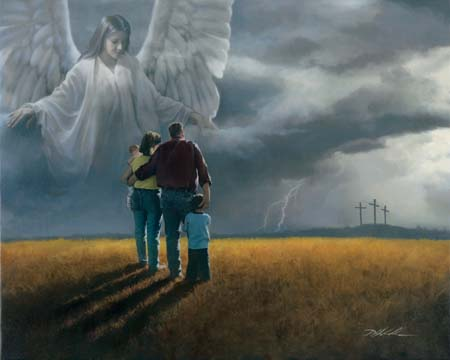"""Danny Hahlbohm Handsigned & Numbered Limited Edition Print:""""Coming Storm """""""