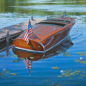 """Darrell Bush Handsigned & Numbered Limited Edition Giclee:""""The Classic"""""""
