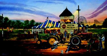 """Dave Barnhouse Limited Edition Print:""""For Top Honors"""""""