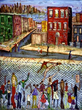 """David Dinkins Limited Edition Print:""""The Other Side"""""""
