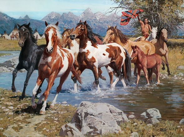 David Mann Handsigned And Numbered Limited Edition Giclee