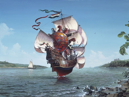 """Dean Morrissey Limited Edition Print:""""The Lightship"""""""
