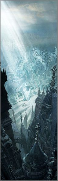 """Disney's Beauty and the Beast Limited Edition Gallery Wrap Canvas Giclee:""""Entering the Castle Grounds"""""""
