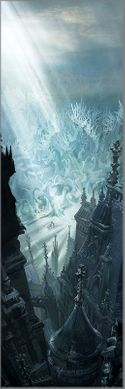 "Disney's Beauty and the Beast Limited Edition Gallery Wrap Canvas Giclee:""Entering the Castle Grounds"""