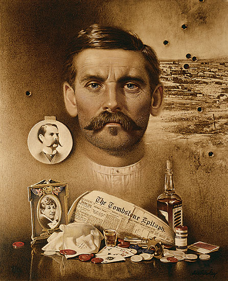 don crawley handsigned numbered limited edition doc holliday