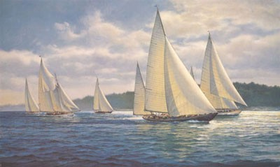 """Donald Demers Limited Edition Print:""""Summer Cruise"""""""