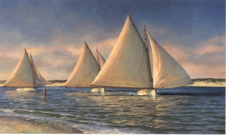 "Donald Demers Limited Edition Print:""Light Run"""