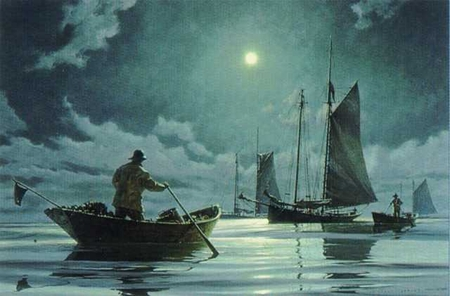 """Donald Demers Limited Edition Print:""""Nightwatch"""""""