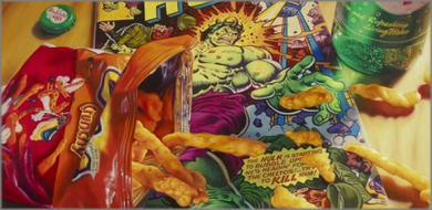"Doug Bloodworth limited edition giclée on canvas:""Cheetos"""