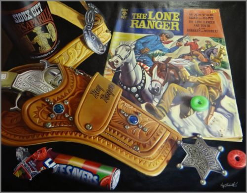 """Doug Bloodworth limited edition giclée on canvas:""""Lone Ranger, The"""""""