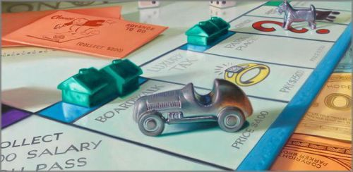 "Doug Bloodworth limited edition giclée on canvas:""Monopoly"""