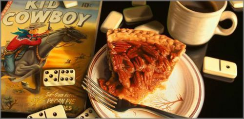 "Doug Bloodworth limited edition giclée on canvas:""Pecan Pie"""