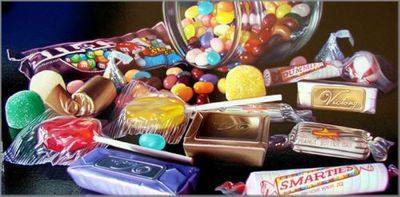 """Doug Bloodworth limited edition giclée on canvas:""""Smarties"""""""