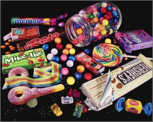 "Doug Bloodworth limited edition giclée on canvas:""Sour Keys and Friends"""