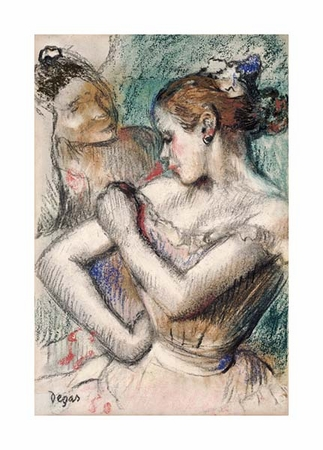 "Edgar Degas Fine Art Open Edition Giclée:""Danseuse"""