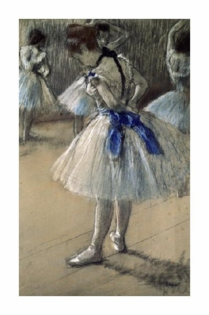 "Edgar Degas Fine Art Open Edition Giclée:""Danseuse, Dancer, Pastel/Char/Chalk"""
