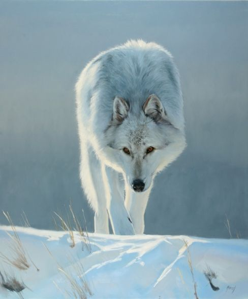 """Edward Aldrich Hand Signed and Numbered Limited Edition Giclee:""""Intent"""""""