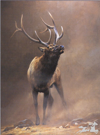 """Edward Aldrich Handsigned & Numbered Limited Edition Print:""""The Challenge"""""""