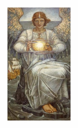 "Edward Reginald Frampton Fine Art Open Edition Giclée:""The Angel of the Sea"""