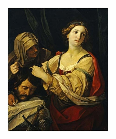 "Elisabetta Sirani Fine Art Open Edition Giclée:""Judith with the Head of Holofernes"""