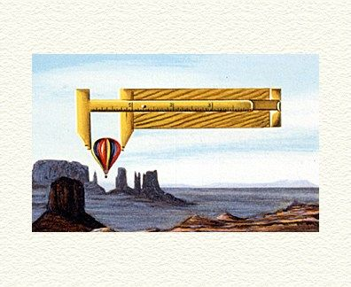 """Fanny Brennan Limited Edition Hand-Crafted Lithograph: """" Captive Balloon """""""