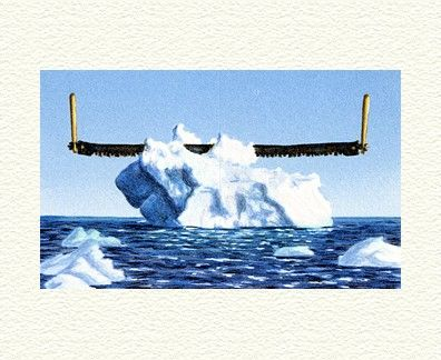 """Fanny Brennan Limited Edition Hand-Crafted Lithograph: """" Icy Slice """""""