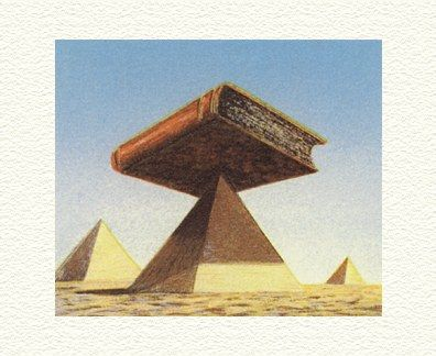 "Fanny Brennan Limited Edition Hand-Crafted Lithograph: "" Pyramid """