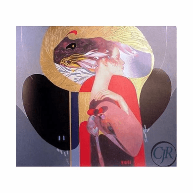 """Felix Mas Lithograph on Paper; Hand Signed and Numbered: """"The Lady"""""""