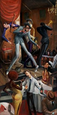 """Frank Morrison Hand Signed and Numbered Limited Edition Giclee:""""Dedication"""""""