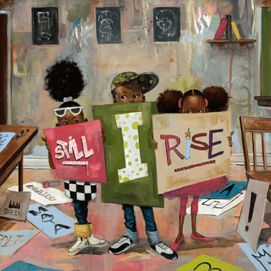 """Frank Morrison Hand Signed and Numbered Limited Edition Giclee on Paper:""""Still I Rise"""""""