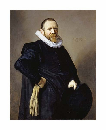 "Frans Hals Fine Art Open Edition Giclée:""Portrait of a Gentleman"""