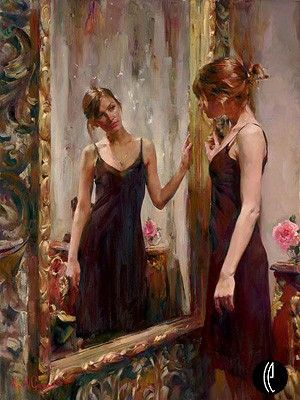 "Garmash Handsigned & Numbered Limited Edition Embellished Giclee on Hand Textured Canvas:""Timeless Beauty"""