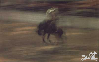 """Gary Rumack Hand Signed and Numbered Limited Edition Lithograph On Paper """"Ghost Rider"""""""