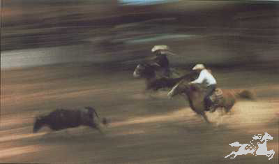 """Gary Rumack Hand Signed and Numbered Limited Edition Lithograph On Paper """"Rodeo'n"""""""