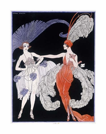 """Georges Barbier Fine Art Open Edition Giclée:""""The Purchase"""""""