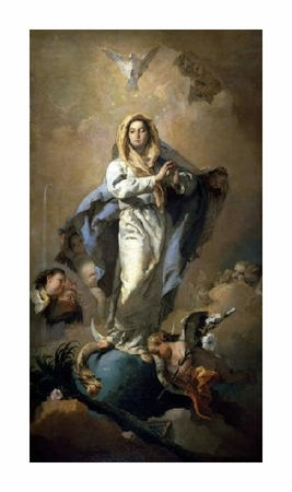 "Giovanni Battista Tiepolo Fine Art Open Edition Giclée:""Conception"""