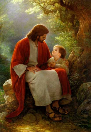 """Greg Olsen© Limited Edition Print: """"In His Light"""""""