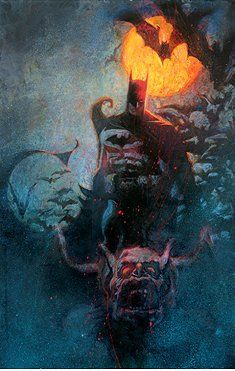 """Bill Sienkiewicz Signed Limited Edition Proof Lithograph on Paper:""""Knight Time"""""""