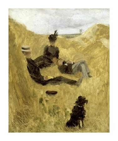"""Henri Toulouse-Lautrec Fine Art Open Edition Giclée:""""Party in the Country"""""""