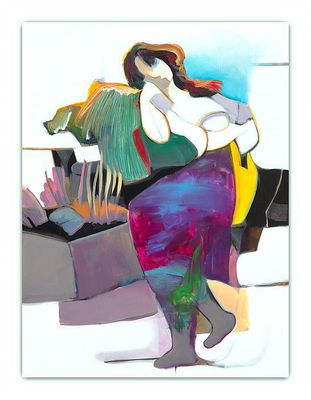 "Hessam Abrishami Hand Signed and Numbered Limited Edition Canvas:""Daydreaming"""