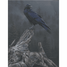 """Daniel Smith Artist Signed Limited Edition Canvas Giclee:""""Raven's Roost"""""""