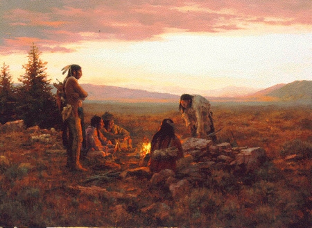 "Howard Terpning Limited Edition Artist Proof Print: ""To Capture Enemy Horses """