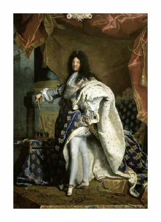 "Hyacinthe Rigaud Fine Art Open Edition Giclée:""Louis XIV, King of France """