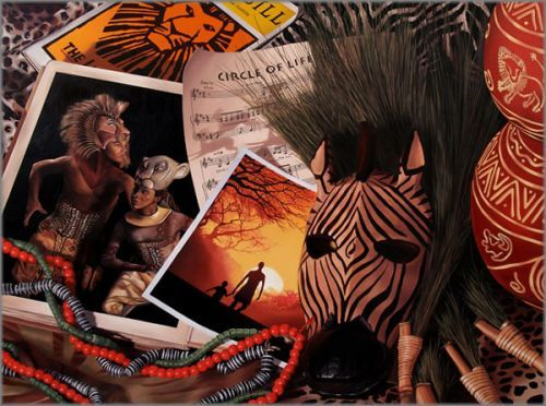 """J. Scott Nicol limited edition giclée on canvas:""""Circle of Life"""""""