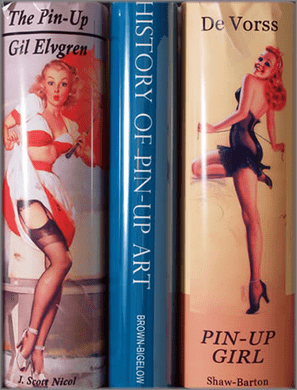 "J. Scott Nicol limited edition giclée on canvas:""History of Pin-Ups"""