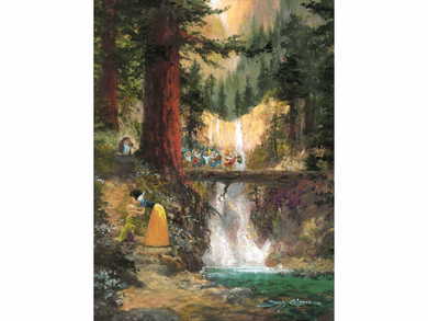 """James Coleman Handsigned & Numbered Limited Edition Canvas:""""Waiting for Dopey"""""""