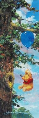 "James Coleman Handsigned & Numbered Limited Edition Embellished Canvas Giclee:""Up in the Air"""